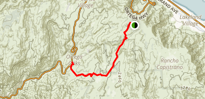 Morgan Trail Map