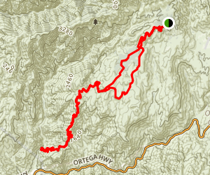 San Juan Trail Map