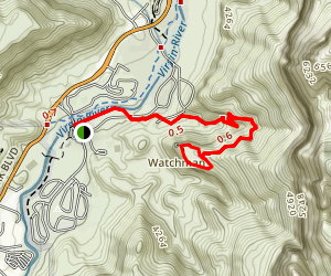 The Watchman Trail Map