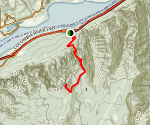 Nesmith Point Trail (CLOSED) Map