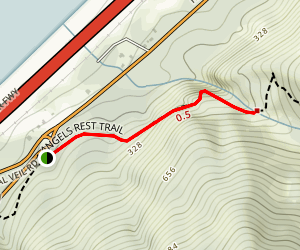 Coopey Falls Trail Map