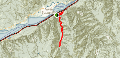 Tanner Creek Trail Map