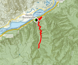 Tanner Creek Trail (CLOSED) Map