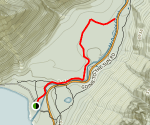 McDonald Creek Trail Map