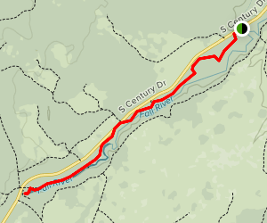 Fall River Trail Map