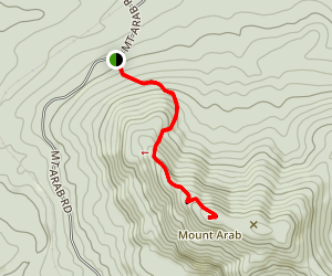 Mount Arab Trail Map