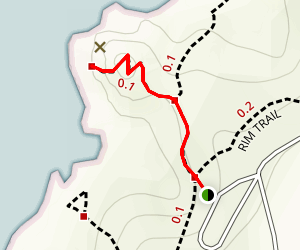 Wedding Rock Trail Map