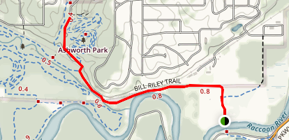 Bill Riley Trail Map