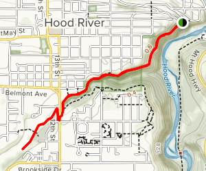 Indian Creek Trail Map