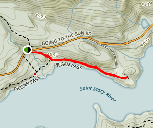 Sun Point Nature Trail Map