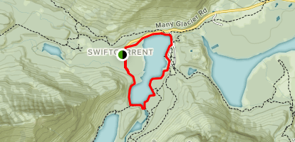 Swiftcurrent Nature Trail Map