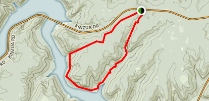 Rimrock and Morrison Trails Map