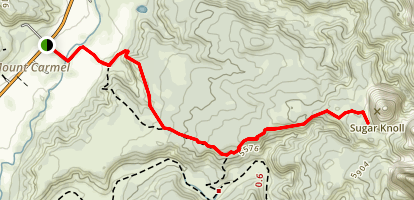 Sugar Knoll with Red Cave Option Map