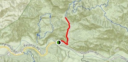 Lower Oso to Upper Oso Trail Map