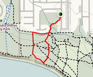 Elwood Bluffs/Coronado Butterfly Preserve Map