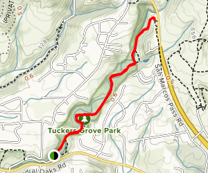 San Antonio Creek Trail Map