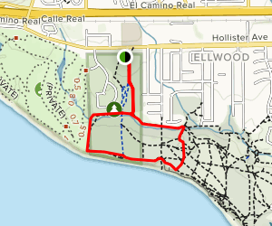 Ellwood Forest Park Loop Map
