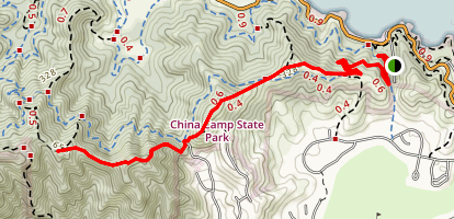 Ridge Fire Trail Map