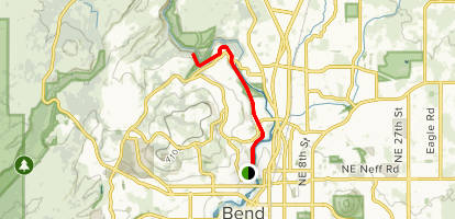 First Street Rapids Park - Deschutes River Trail Map