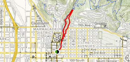 City Creek Park to Memory Grove Trail - Utah | AllTrails