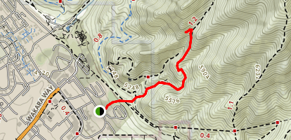 The Living Room Trail Map