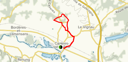 Cante Coucut Loop Map