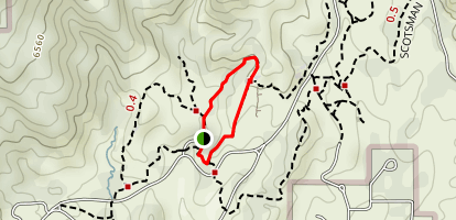 Siamese Twins Loop Trail Map