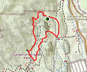 Susan G. Bretag Trail and Palmer Trail Loop Map