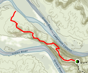 Fort Bottom Ruin Trail Map