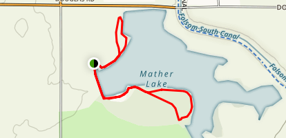 Mather Nature Loops Map