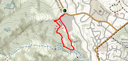 Sausal Pond Loop Map
