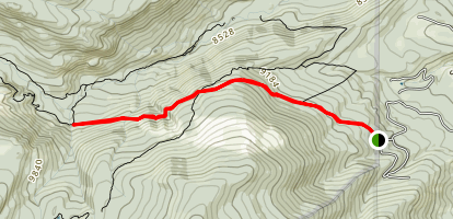 Allenspark Trail to Calypso Cascades Map