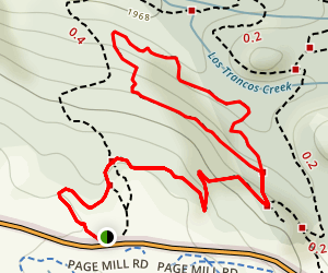San Andreas Fault Trail California Maps Photos Reviews - Andreas fault map