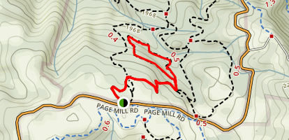 San Andreas Fault Trail Map