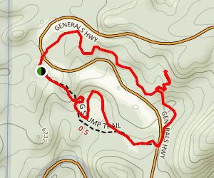 Big Stump Loop Trail Map
