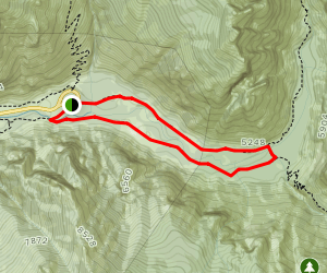 Road's End to the Bailey Bridge Map