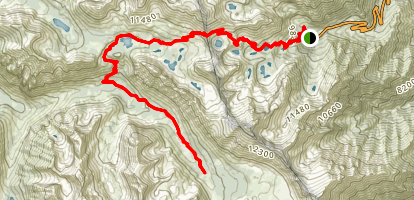 Vidette Meadow Trail Map