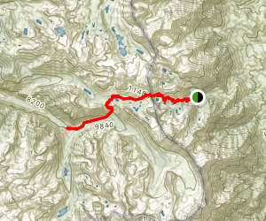 Junction Meadow Trail Map