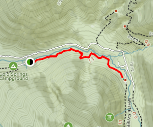 Cold Springs Nature Trail Map