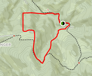 Gibson Ranch Loop Trail Map