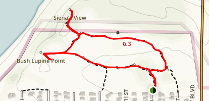 Elfin Forest Natural Area Trail Map
