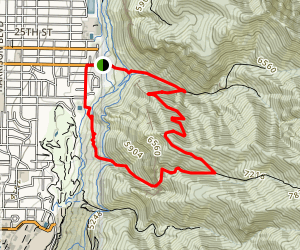 Malans Peak Loop Trail Map