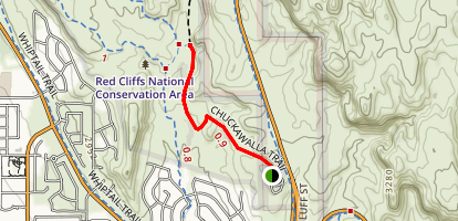 Chuckawalla Trail Map