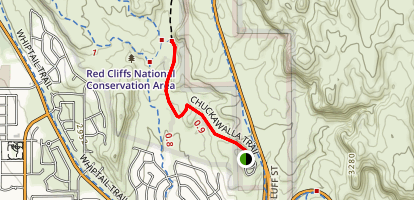 Chuckwalla Trail Map