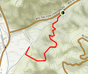 Wren Meacham Trail Map