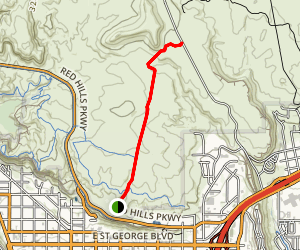T-Bone Trail Map