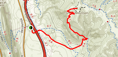 Rooney Valley Trail Map