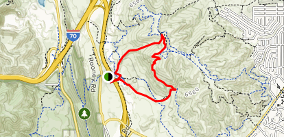 Rooney Valley Trail/Green Mountain Trail Loop - Colorado | AllTrails