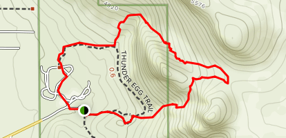 Florida Mountain Loop Trail Map