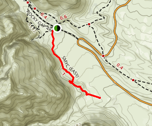 SMYC - Spring Mountain Youth Camp Trail Map